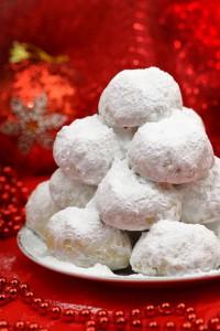 Kourambiedes, az egyik karácsonyi finomság