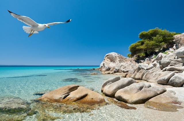 A Chalkidiki-félsziget kristálytiszta tengeréről is híres