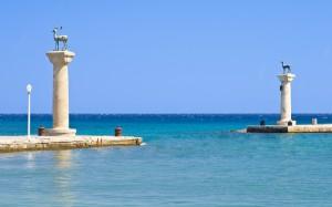 A kikötő, ahol hajdanán a Kolosszus állhatott