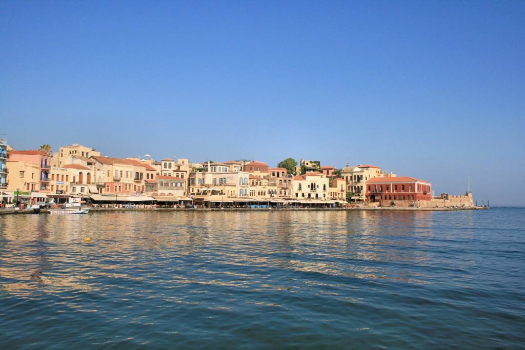 Chania_kikötő