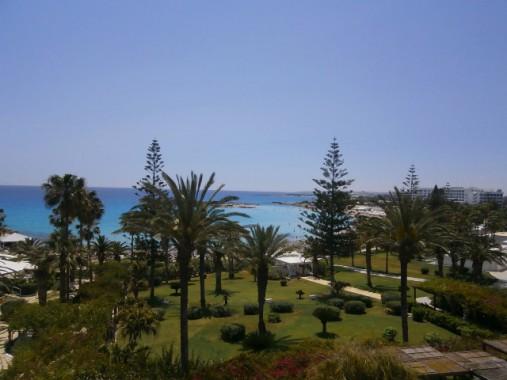 A Nissi Beach Hotel kertje
