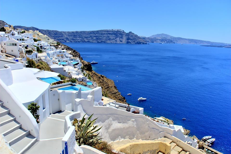 Santorini Görög Szigetek