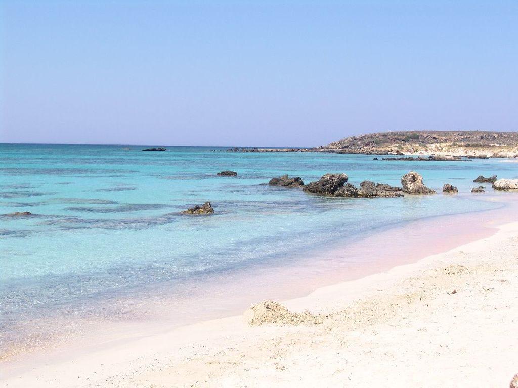 Elafonissi tengerpart