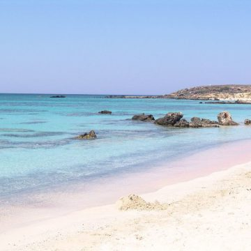 Elafonissi-tengerpart